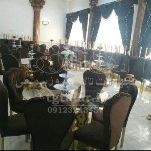صندلی مبله و میز | میز تالار | صندلی مبله | صندلی تالار
