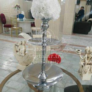 ظروف پذیرایی با گل | انواع ظروف پذیرایی و گلدان تالار |