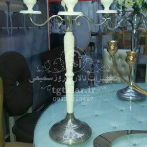 شمعدانی فلزی تالار | گلدان و شمعدانی تالار | تجهیزات تالار