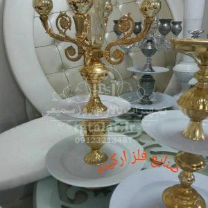 شمعدانی فلزی | شمعدانی تالار | تجهیزات تالار | گلدان تالار
