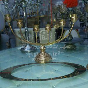 شمعدانی فلزی | لوازم تالار | تجهیزات تالار | شمعدانی و گلدان تالار