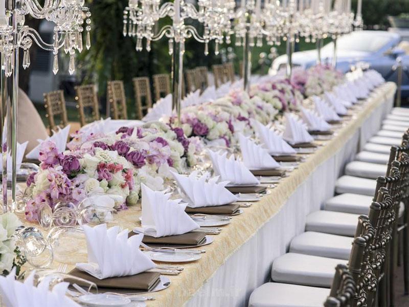 عروسی به سبک اروپایی | صندلی تالار | صندلی شیواری | تجهیزات تالاری
