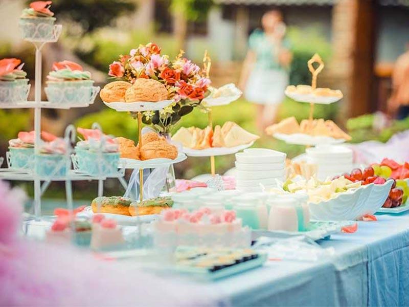 ظرف میوه خوری تالار | خرید انواع شمعدانی ، میز و صندلی تالار در تجهیزات تالار سمیعی