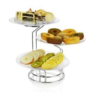 ظرف میوه خوری تالار   خرید انواع شمعدانی ، میز و صندلی تالار در تجهیزات تالار سمیعی