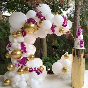 بادکنک آرایی عروسی | خرید شمعدانی تالاری ، میز و صندلی تالاری در تجهیزات تالار سمیعی